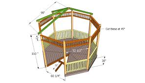 octagon home plans octagon house plans modern tropical luxihome for alluring decks