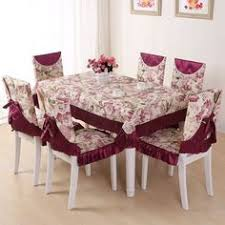 Online Shopping For Dining Table Cover Quality Cloth Dining Table Cloth Dining Chair Set Cushion Back