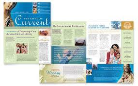 free church brochure templates for microsoft word catholic parish bulletin template inspired communication