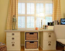 Small Craft Desk Craft Desk Plans Doors And Open Center Storage With Shelf Hutch