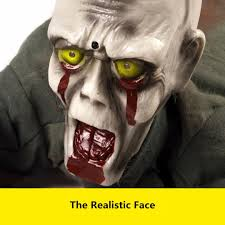halloween scary picture halloween scary ground crawling zombie skeleton animated prop