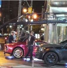 batman rides roof joker u0027s car u0027suicide squad