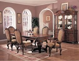 excellent old world formal dining room furniture pedestal table