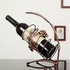 attractive wrought iron wine racks u2013 home designing