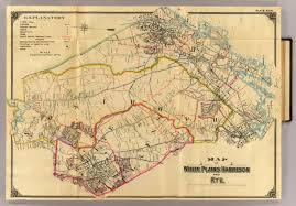Nys Map 4 White Plains Harrison Rye David Rumsey Historical Map File1867