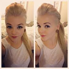 13 best hair fun images on pinterest hair cut shaved hair and