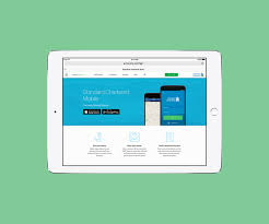 standard chartered sg bank iconography on behance