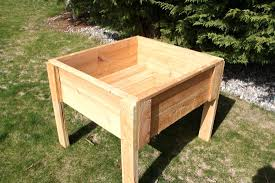 building a vegetable garden box on legs the garden inspirations