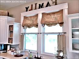 no sew burlap kitchen curtains burlap ruffled valance by on etsy