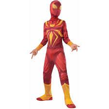 Boys Spider Halloween Costume Iron Spider Child Halloween Costume Walmart