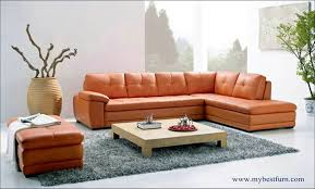 L Leather Sofa Modern Sofa Sectional Ottoman Chaise Longue 8001 8001 0