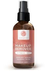 100 natural makeup remover u0026 oil foxbrim