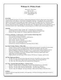Sample Short Resume by Resume Short Form April 1st 2015
