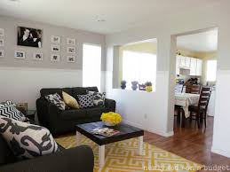 blue and yellow living room boncville com