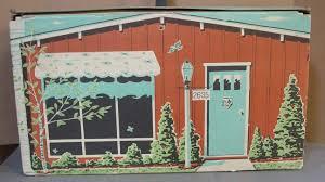 Barbie Home Decor by Ideal Doll House For Tammy Barbie U0026 Similar Sized Dolls 1963