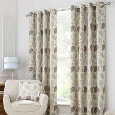 autumn meadow lined eyelet curtains dunelm house black