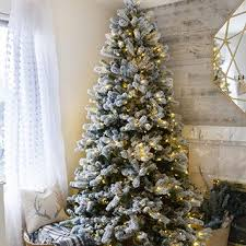 Decorated Christmas Trees On Sale by 9 Foot Artificial Christmas Trees 9 Foot Prelit And Unlit Trees