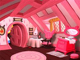 All Pink Bedroom - the 6th house is the house of ill health disability and mental