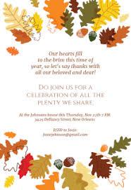 thanksgiving invitation card templates happy thanksgiving
