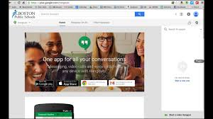 tech tip how to invite others to a google hangout youtube