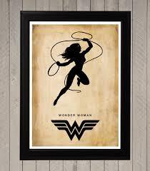 wonder woman silhouette minimalist poster movie by cultposter justice league 5 silhouette minimalist poster set by cultposter