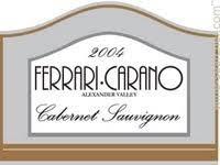 carano reserve cabernet tasting notes 2006 carano cabernet sauvignon