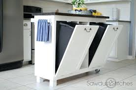 built in trash can cabinet under the sink trash can garbage cabinet pull out built in trash