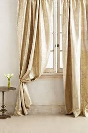gilded waves curtain anthropologie
