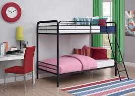 Metal Bunk Beds Twin Over Twin by Dhp Twin Over Twin Metal Bunk Bed Black Amazon Ca Home U0026 Kitchen
