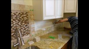 how to install marble backsplash tile and mother of pearl mosaics