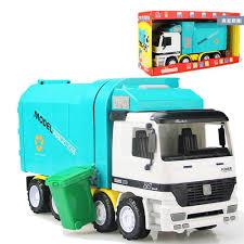 man side loading garbage truck toys big size jumbo inertia truck