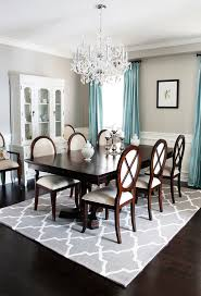dining room ideas excellent rug under dining table ideas dining