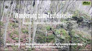 Bad Urach Wandern Wanderung Zum Teufelskeller Wandern In Der Rhön Pinterest