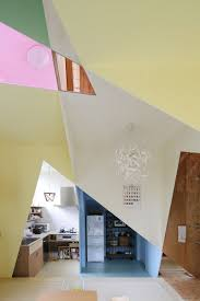 japanese home colorful and angle loving is a kaleidoscopic