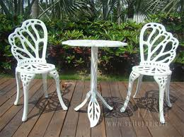 White Patio Furniture Contemporary Metal Outdoor Furniture Inside Design Decorating