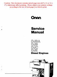onan service manual djba djb djc dje diesel engines 967 0751