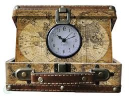 World Map Watch Quickway Imports Small Old World Map Suitcase Clock U0026 Reviews