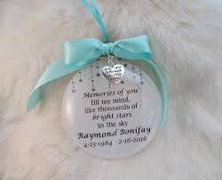 ornaments in memory of ornaments baby