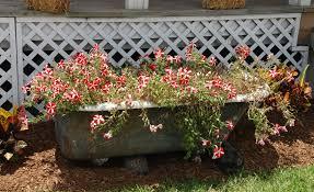 Bathtub Planter 65 Beautiful Flower Box Ideas Pictures Designing Idea