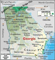 ga map map geography of map of worldatlas