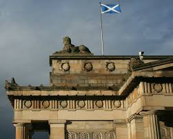 scotland flag the legend of st andrew must see scotland