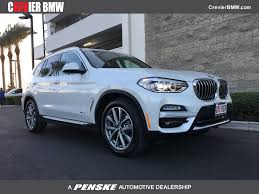 2018 new bmw x3 xdrive30i sports activity vehicle at crevier bmw