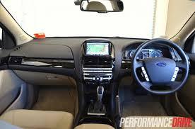 Ford Falcon Xr6 Interior 2012 Ford Falcon G6e Turbo Fg Mkii Review Performancedrive