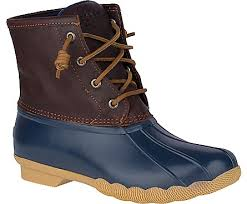 womens duck boots sale s saltwater duck boot boots sperry