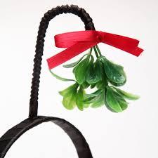 mistletoe hat mistletoe headband the green