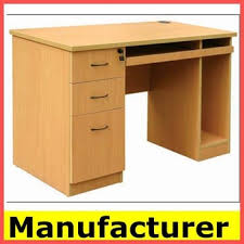 Standard Computer Desk Sale Morden Wooden Office Standard Height Computer Desk Table