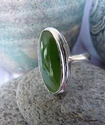 green stone rings images Silver greenstone ring made in nz jpg
