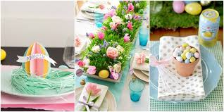 24 Easter Table Decorations Table Decor Ideas for Easter Brunch
