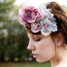 floral headpiece assortment of floral pieces for brides weddings