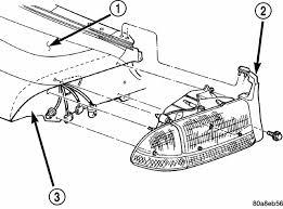how to change headlight on a 2001 dodge dakota